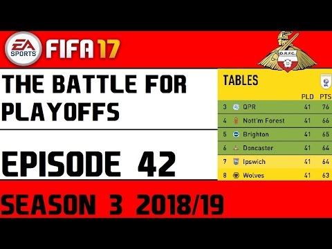 The Battle For Playoffs Is On S3 E42 (FIFA 17 Career mode Stream)