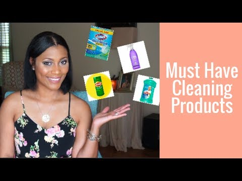 Must Have Cleaning Products| Products I Can't Live Without| Cleaning Your Home