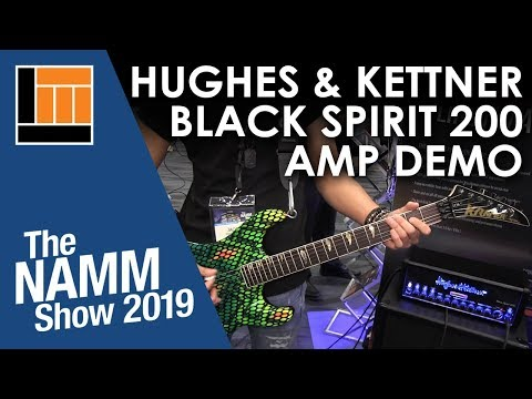 L&M @ NAMM 2019: Hughes & Kettner Black Spirit 200 Guitar Amp