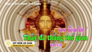 Suy Niệm Lời Chúa, Thứ Hai 03062019