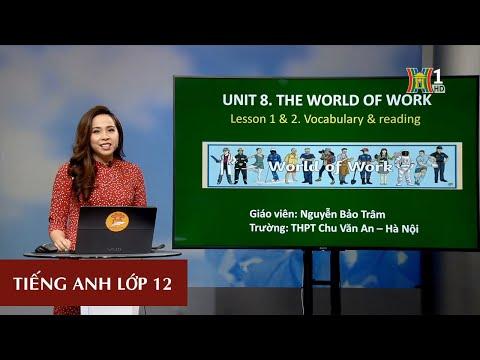 MÔN TIẾNG ANH - LỚP 12 | UNIT 8: THE WORLD OF WORK | 15H15 NGÀY 18.03.2020 (Dạy học trên truyền hình Hà Nội)