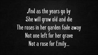 The Zombies - A Rose For Emily (Lyrics)