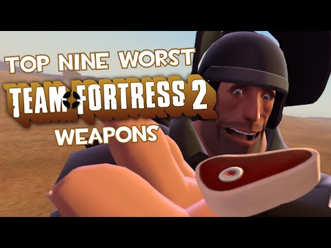 Top Nine Worst Team Fortress 2 Weapons letöltés