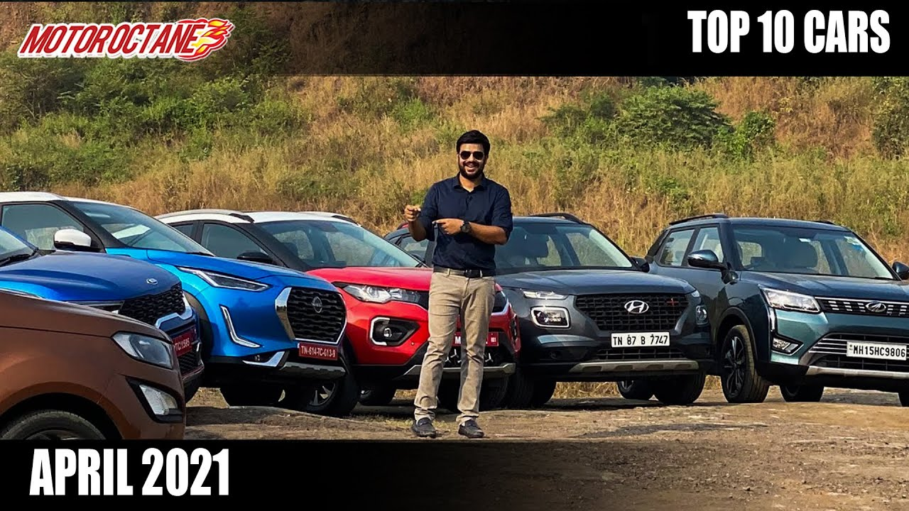 Motoroctane Youtube Video - Top 10 Cars in India in April 2021 - All Details