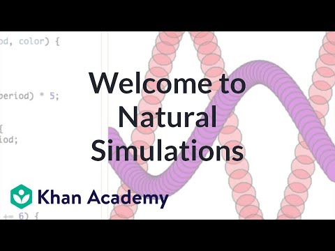 A thumbnail for: Advanced JS: Natural Simulations