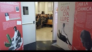 "Guadalupe all'Università ""La Sapienza"" di Roma, il video"