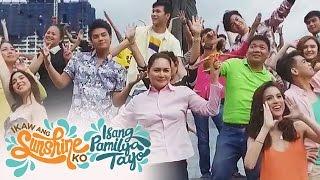 ABS-CBN Summer Station ID 2017 'Ikaw Ang Sunshine Ko, Isang Pamilya Tayo'