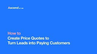 Price Quotes | Ascend Business Tools | Your Complete Marketing & Customer Management Suite