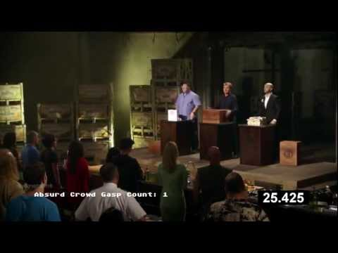 Absurd Crowd Gasp sound effect 3 times in less than 1 min (MasterChef)