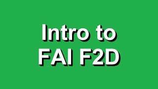 Intro to FAI F2D Control-Line Combat
