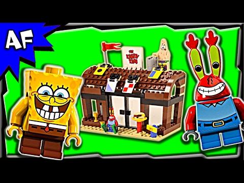 Vidéo LEGO Bob l'éponge 3833 : Aventures au Crabe Croustillant