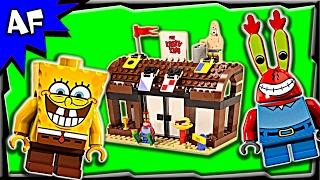 Lego SpongeBob KRUSTY KRAB Adventures 3833 Speed Build