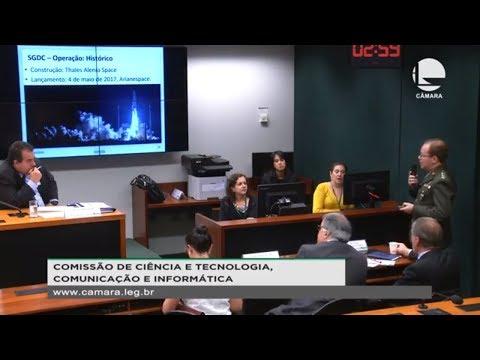 Ciência e Tecnologia - Satélite geoestacionário para prover internet - 22/08/19