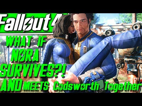 Fallout 4 Mod: Reunited with Nora - смотреть онлайн на Hah Life