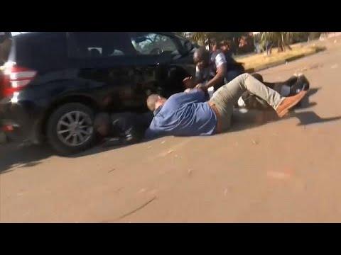 Ζιμπάμπουε: Οδομαχίες στρατού και διαδηλωτών στην πρωτεύουσα…