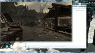 Skyrim : Как Убрать Компас  (гайд)