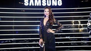 Thanh Hằng sexy dự lễ ra mắt Samsung Galaxy S8 và S8+