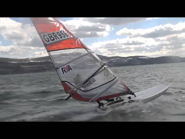 Top Tip for sailing in Largs with David Kent, Largs Sailing Club  - RYA Youth Nationals 2013