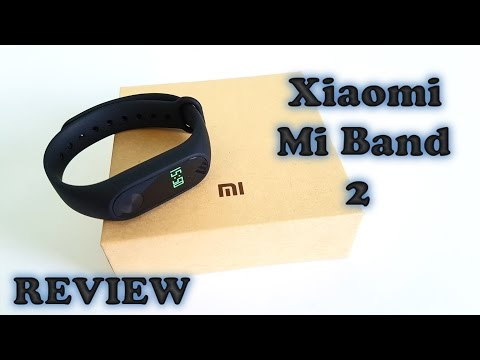 Xiaomi Mi Band 2 REVIEW - in English
