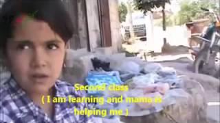 preview picture of video 'سوريا | صورة من معاناة يومية لأطفال سوريا | حماة كفرنبودة'