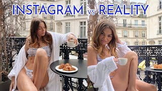 INSTAGRAM vs REALITY | what really happens taking photos