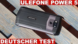 Ulefone Power 5 Test: Beeindruckende Akkulaufzeit (Deutsch)