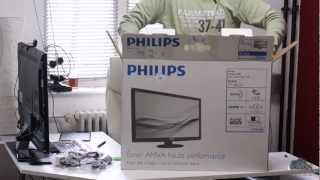 Review Monitor LG IPS277 vs. Philips 273E3QHSB/00 (Deutsch) inkl. Unboxing