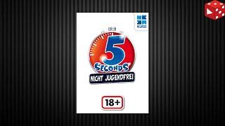 5 Seconds - Nicht Jugendfrei (Huch 2019) Partyspiel für schlagfertige Schnelldenker