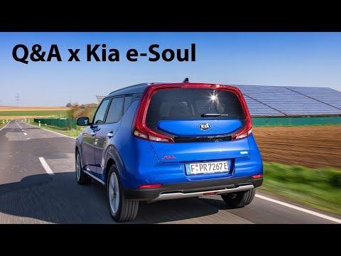 Kia e-Soul: Eure Fragen - Wir antworten (Technik, Reichweite, Lieferzeiten...) - Autophorie