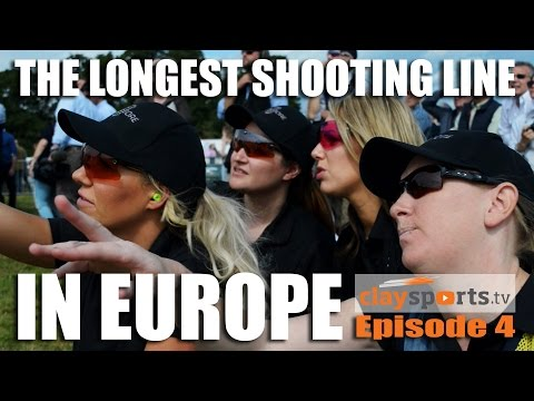 The Longest Shooting Line in Europe – Claysports, episode 4