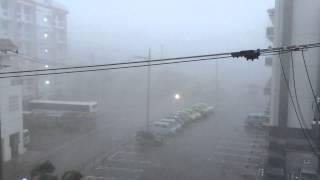 『ヤバイ』石垣島台風15号猛威⑦