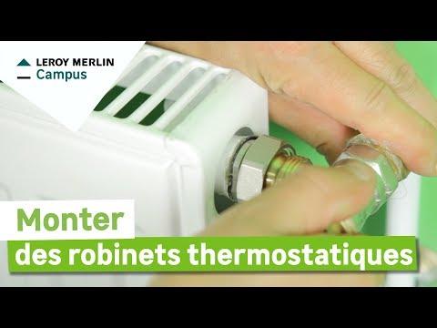 comment demonter robinet radiateur