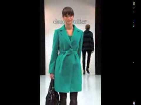 Claudia Sträter catwalkshow winter 2013