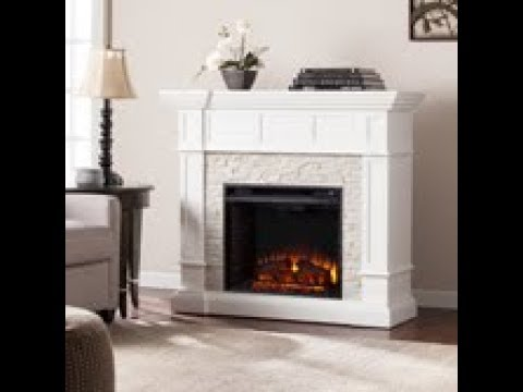 FE9638: Merrimack Corner Convertible Electric Fireplace Assembly Video