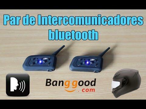 Nuevos Intercomunicadores Bluetooth para casco de moto