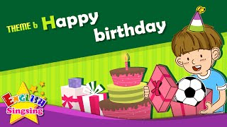 Theme 6. Happy Birthday - This Is For You. Thanks. | ESL Song & Story - Learning English For Kids