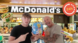 I LET MY FAMILY CHOOSE MY MCDONALDS ORDER FOR 24 HOURS!!