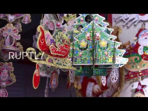 China: Take a trip to Yiwu, the town where Christmas is made