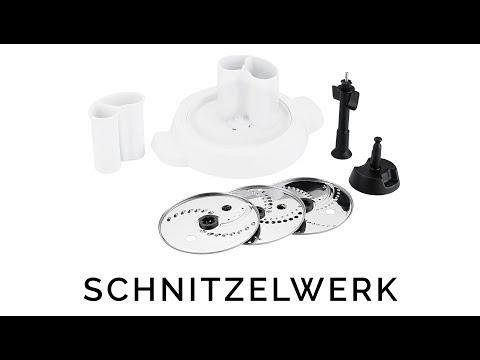 Schnitzelwerk Zubehör XF551D - Krups I Prep und Cook Gourmet Shred & Slice