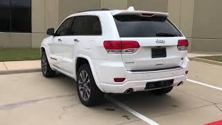 Pre-Owned 2018 Jeep Grand Cherokee Overland 4x4 2bPKG BlindSpotDetection 22''Wheels PanoRoof