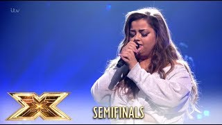 Scarlett Lee WOWS With The Greatest Showman´s This Is Me! | Semi-Finals | The X Factor UK 2018