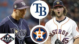 Tampa Bay Rays vs. Houston Astros Highlights | ALDS Game 2 (2019)