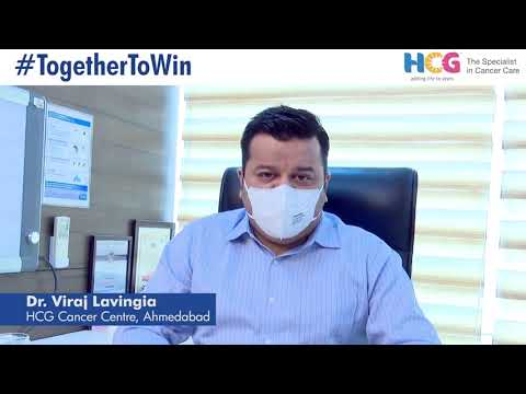 Dr. Viraj Lavingia urges all cancer patients not to delay their treatment
