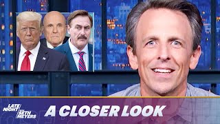 Rudy Giuliani Drowns in Legal Bills; Mike Lindell Melts Down at Cyber Symposium: A Closer Look