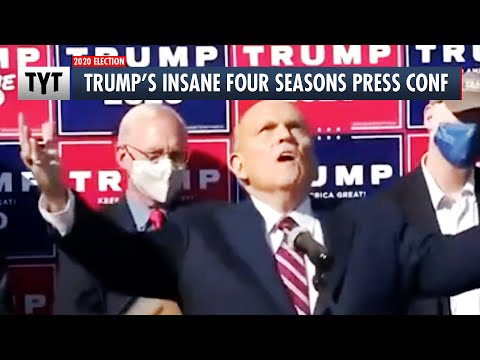"Trump's ""Four Seasons"" Press Conference Disaster"