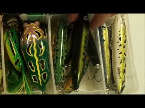 My Tackle Part 3: Topwater (FROGS, POPPERS, WALKING BAITS)