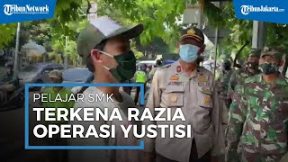 Tak Hafal Pancasila, Pelajar SMK di Palmerah Terjaring Razia Operasi Yustisi