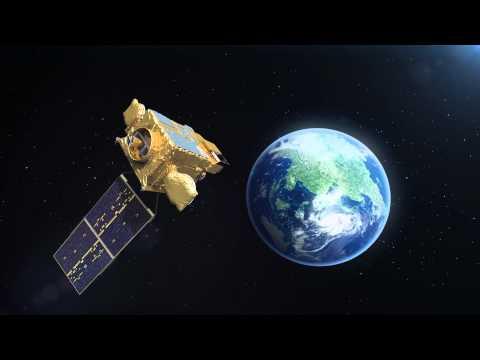천리안 위성 임무수행 CG