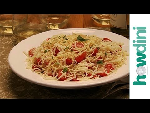 Quick and Easy Pasta Recipes: Cappellini Caprese and Fettuccine Alfredo Recipe