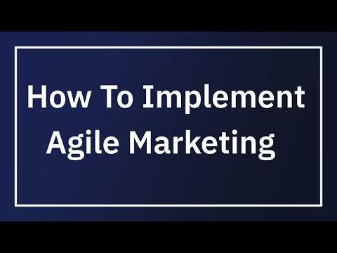 How to Implement Agile Marketing   Practical Tips - YouTube